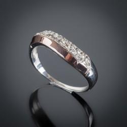 Серебряное кольцо Илона