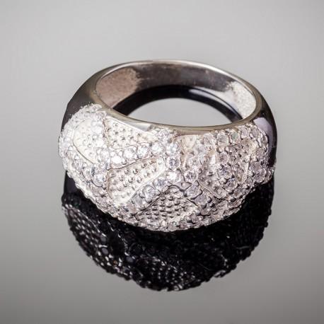 Серебряное кольцо Чалма