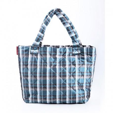 Стеганая сумка PUFFY ECO-BAGS Poolparty (синий)
