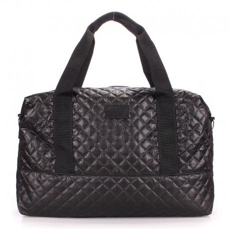 Стеганая сумка SWAG MESSENGER (черная)