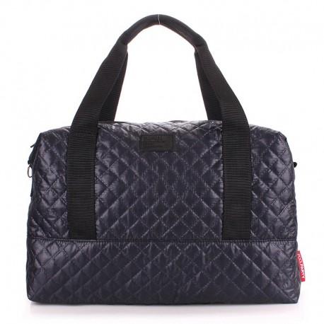 Стеганая сумка SWAG MESSENGER (темно-синяя)