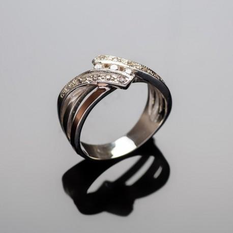 Серебряное кольцо София
