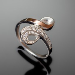 Серебряное кольцо Марта