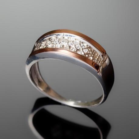 Серебряное кольцо Лидия