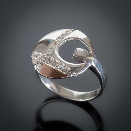 Серебряное кольцо Рассвет