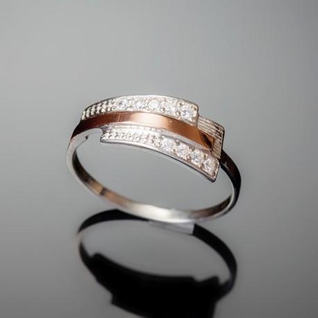 Серебряное кольцо Олимп