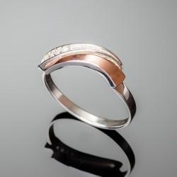 Серебряное кольцо Кипарис