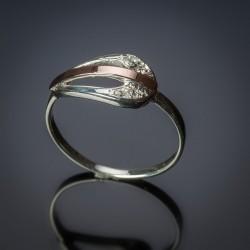 Серебряное кольцо Соната
