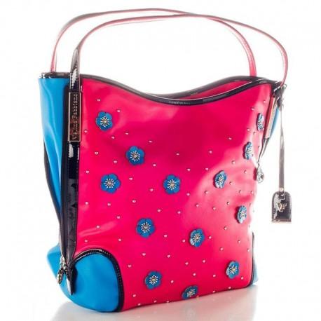 Объемная сумка на плечо Velina Fabbiano