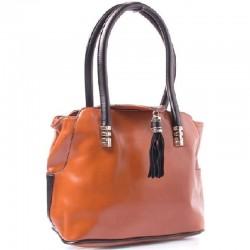 Стильная темно-оранжевая сумка Velina Fabbiano
