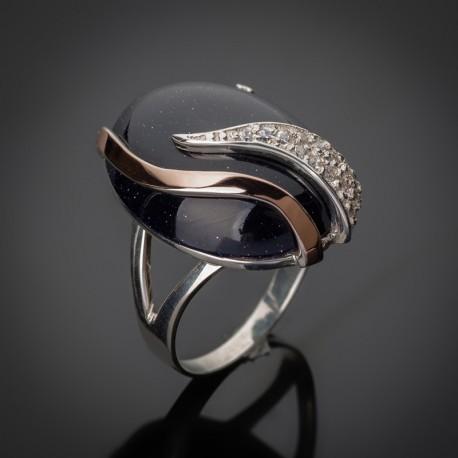 Кольцо с кабошоном Кармен