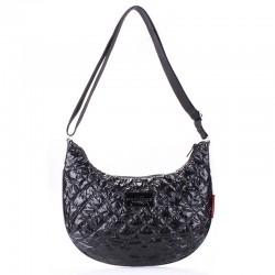 Черная сумка через плечо Poolparty, болонья