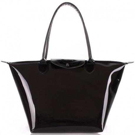 Темная прозрачная сумка Poolparty POOL80 KELLY
