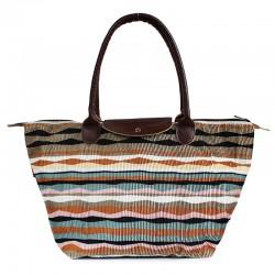 Вельветовая летняя сумка, POOLPARTY VELVET (коричневый)