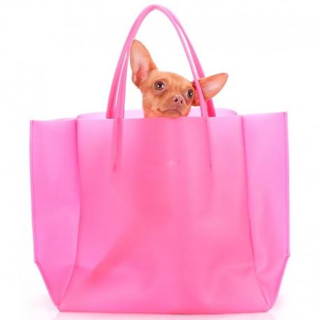 Модная силиконовая сумка Poolparty SOHO GLOSSIP (розовый)