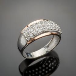 Серебряное кольцо Элит