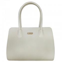 Белая сумка VALEX из эко-кожи, арт.2117