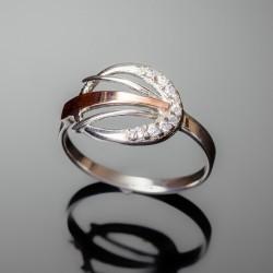 Серебряное кольцо Амур