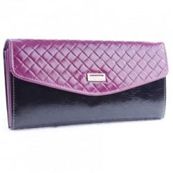 Женский кошелек Velina Fabbiano фиолетовый, кожа