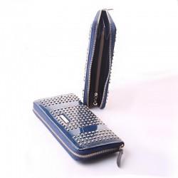 Кожаный кошелек Velina Fabbiano с заклепками