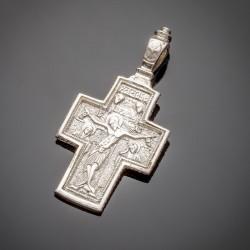 Серебряный крест, Иисус Христос и Божья Матерь