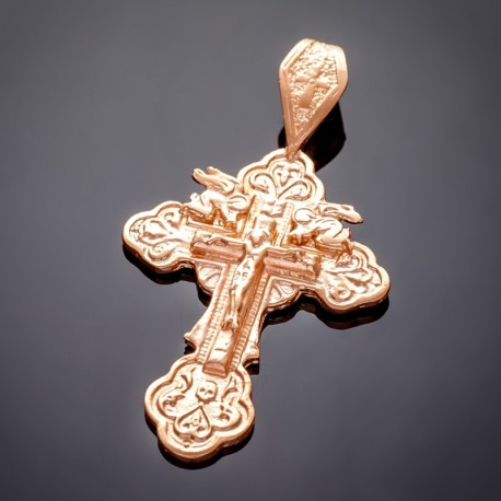 Крестик с распятием