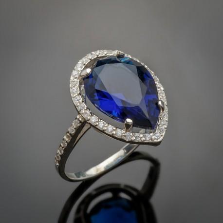 Кольцо Катюша (синий)