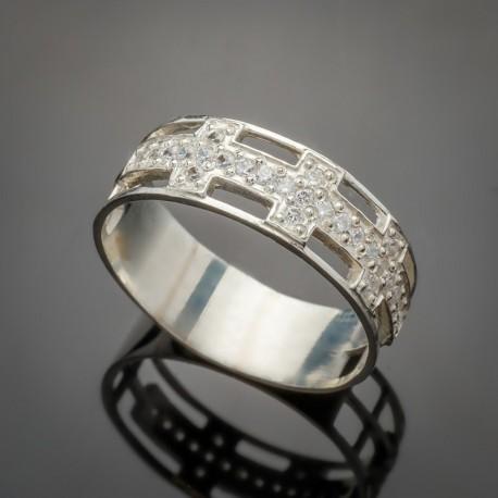 Серебряное кольцо Натали