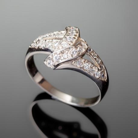 Серебряное кольцо Анна