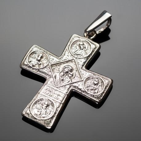 Крест с ликами святых (без покрытия)