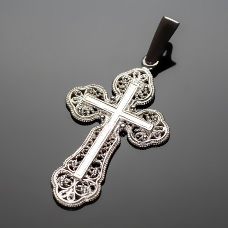 Позолоченный крестик (без покрытия)