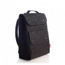 Практичный рюкзак из войлока с карманом