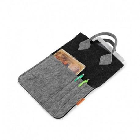 Сумка-планшетка из войлока
