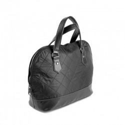 Оригинальная сумка стеганная болонья+эко-кожа