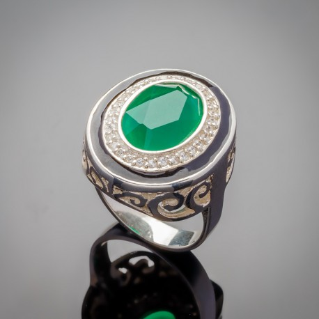 Серебряное кольцо Земфира