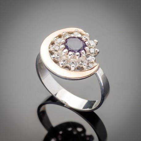 Серебряное кольцо Талисман