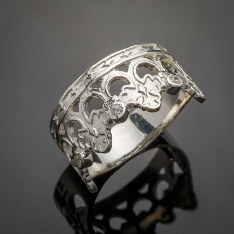 Серебряное кольцо Осень