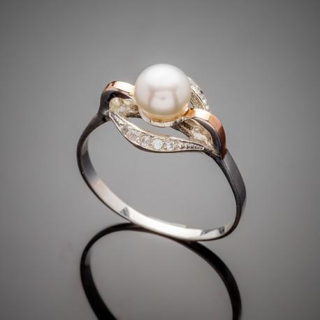 Женское кольцо Улыбка