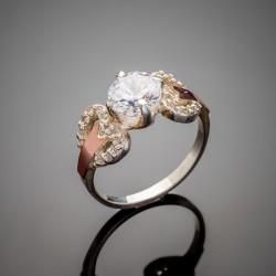 Серебряное кольцо Ричи