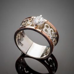 Серебряное кольцо Карина