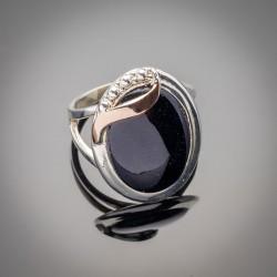 Прованс - серебряное кольцо в виде печатки
