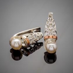 Парадиз - серебряные серьги