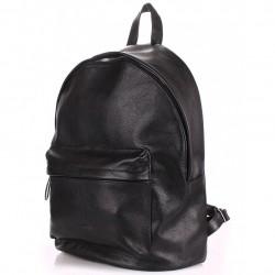 BACKPACK Leather BLACK Poolparty Кожаный