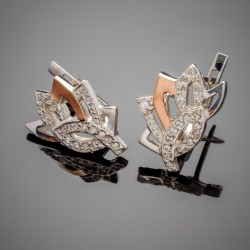 Серебряные серьги Кассандра