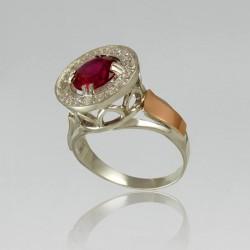 Серебряное кольцо Неолина