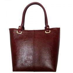 Бордовая сумка Betty Pretty с блеском