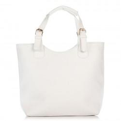 Белая женская сумка-шоппер Betty Pretty