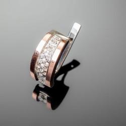 Серебряные серьги Лидия