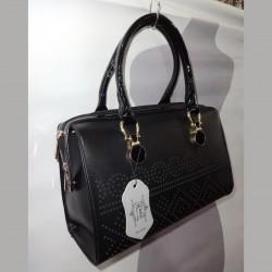 Стильная сумка с перфорацией