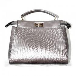 Двусторонняя сумка-портфель Betty Pretty, под рептилию